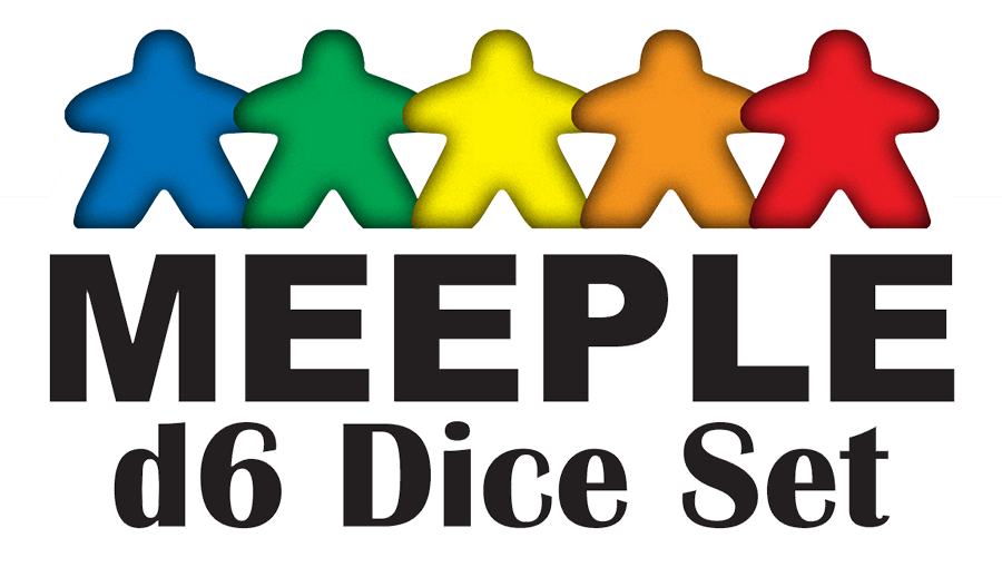 Meeple D6 Dice