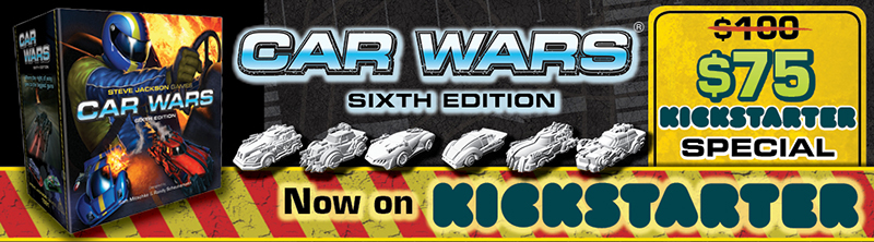 Banner link to Car Wars 6E More