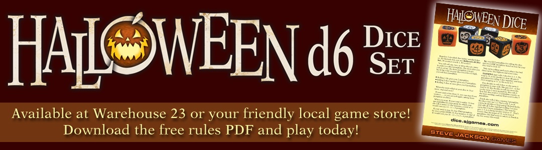 Banner link to Halloween D6 Dice Set