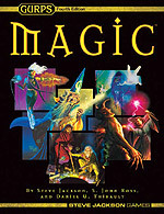 GURPS Magic: The Least of Spells – Cover