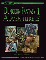 GURPS Dungeon Fantasy 16: Wilderness Adventures – Cover