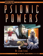 GURPS Psionic Powers – Cover