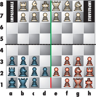 Three-Player Chess Variant